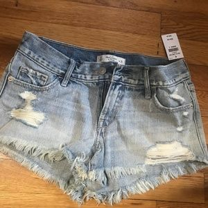 Abercrombie & Fitch shorts size 0 Womens NWT